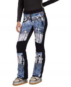 Abell Print Softshell Ski Pants