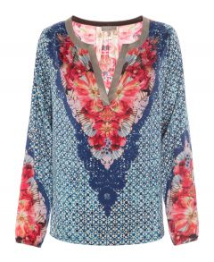 Amalie Silk Shirt