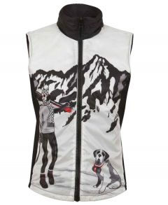 Sela Reversible Quilted Vest