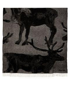 Pentik Fauna Woollen Blanket - Reindeer