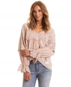 Flying with Love Blouse
