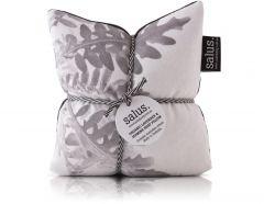 Organic Lavender & Jasmine Heat Pillow (Grey Botanical)