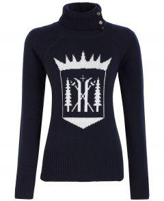 Ski Race Knit Monarch Navy