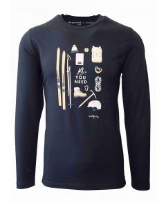 Rossalm Mens Long Sleeve Tee