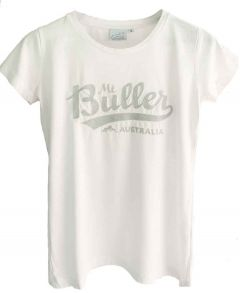 Silver Embroidered Buller Tee