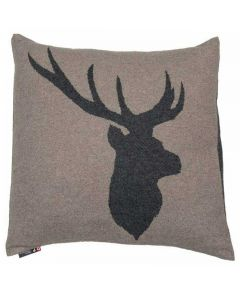 Stag Head Cushion 50x50cm