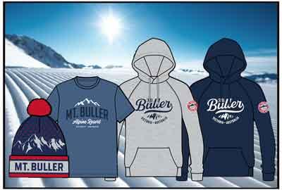 Mt Buller Logo Wear